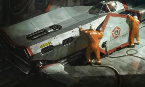 It Just Needs An Oil Change by Cristi-B