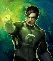 Green Lantern by irvintustin