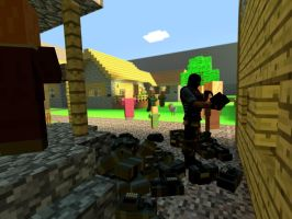 Whenever I'm at a Village in Minecraft by Kafei79