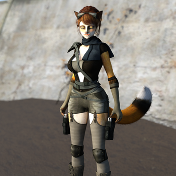 Foxy Scavenger by Martiandawn