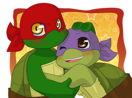 TMNT: My favorite bro by NamiAngel