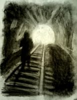 Light at the End of the Tunnel by MonsieurJackass