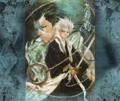 Bleach Wallpaper Toshiro by Snays