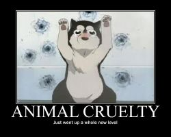 ANIMAL CRUELTY by kittykatkuro923
