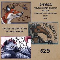 Badges by MegLyman