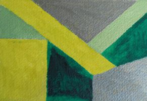 Study in Viridian and Grey by Urceola