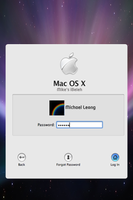 Mac Login Lockscreen Alt. Ver. by gepalex