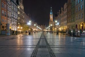Gdansk at Night, pt.2 by c1n3kk