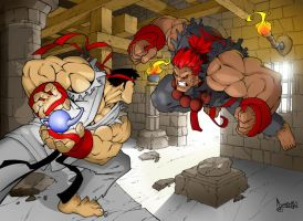NeMA's Street Fighter Colour by billythebrain