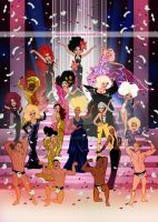 Rupaul's Drag Race Finale Season 6 by mDiMotta