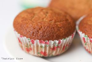 Banana cupcakes 1 by patchow