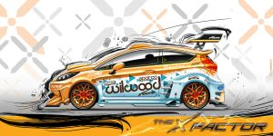 The X Factor // Ford Fiesta 2012 Modified by MuratCALIS
