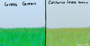Grass green by sweet-pea-soup