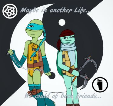 TMNT 2012: Venus and Kameko *CONTEST ENTRY* by MiraculousLover21
