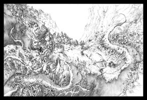 Rage Page 9 and 10 Double spread by quahkm