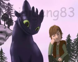 Cute Toothless by Digigeng83