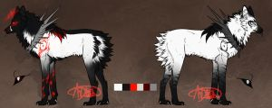 Maned wolf by Andiliion