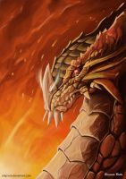 Red Dragon by shiprock