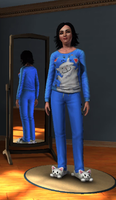 My sims 3 self. by Metal-Rock-Punk30
