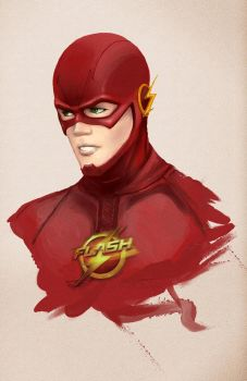 The Flash Tv Series by burcuaycan