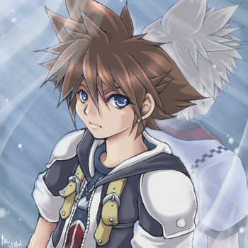 KH2 - + Reflection + by gemiange