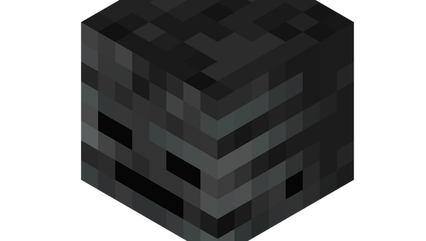 Wither Skelly Skull by Bradtvford