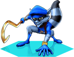 All-Stars: Sly Cooper by SweetTooth2