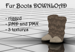 Fur Boots DOWNLOAD by KohakuUme6