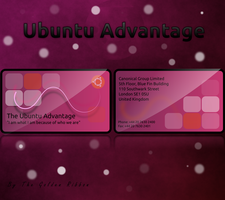Ubuntu Avantage Card Concept by Golden-Ribbon