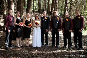 Bridal Party in the Woods by QueenSheba24