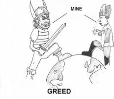Greed by augustusceaser