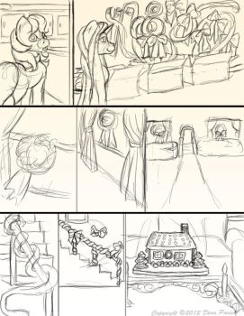 Chapter 11 page 6 sketches by FlyingPony