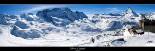 Glaciers of Zermatt by tyranus82