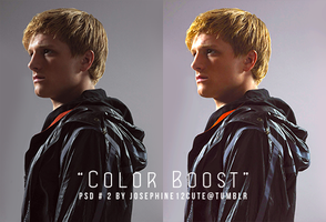 PSD2 - Color Boost by josephine12cute