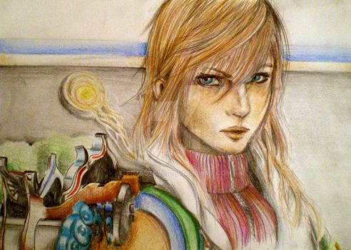 Final Fantasy XIII , Lightning by Pimousslb