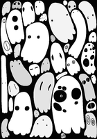Ghosts by Giantchocolatecat