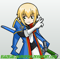 BlazBlue Jin by desfunk