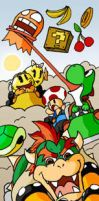Mario Kart vs by SketchBravo