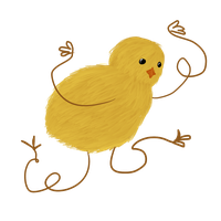 Wierd Easter Chicken Thingy by Anolee