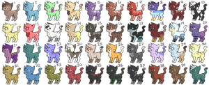 40 Cheep Kitten Adopts (open) by MacNroo