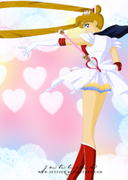 Super Sailor Moon... by Yettyen