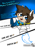New - Point Commission Price Sheet - Digital Art by BKcrazies0