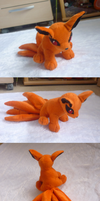Sitting Kyuubi plush :: FIN by goiku