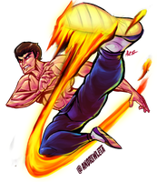 Fei Long - Street Fighter Collab by rockmanzallz