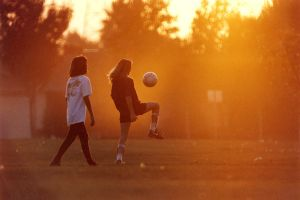Soccer Sunset by photoart1