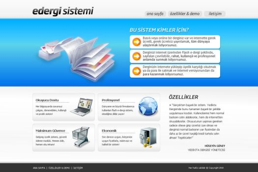 E-Magazine System by siracel