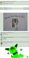 BARFDAY LOVES~:,D by Nuclearpsychotic