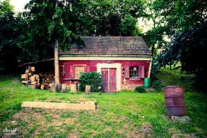 red house on country by avirid