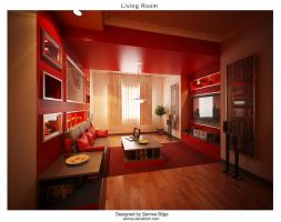 Living Room V1 by Semsa