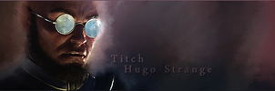 Hugo Strange Signature by Titch-IX